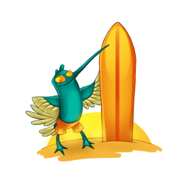 04-Surfing-Bird