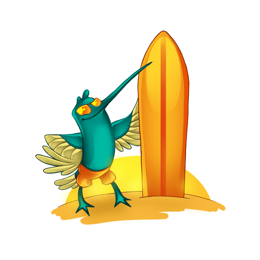 04-Surfing-Bird